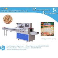 Buy cheap Italian handmade pizzas seafood style pizzas horizontal straight pillow automatic packaging machine product
