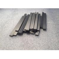 Buy cheap Tungsten Carbide Bars / Strips For Metal Cutting With 45 Degree Angle Surface product