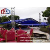 Buy cheap A Shape Aluminium Exhibition Truss System1-4m Unit Length Easy To Set Up product