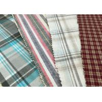 """Buy cheap Brushed 100% Cotton Fabrics 57/8"""" Width red white 21*21 62*52 product"""