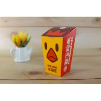 Buy cheap Paper Fried Chicken Takeaway Boxes ECO Friendly Disposable Food Grade Various Size product