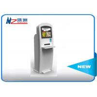 Buy cheap 22 Inch Powder Coated Self Service Kiosk Self Check In Kiosk With Keyboard product