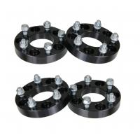 """Quality 1"""" 5x4.5 to 5x4.5 Black Wheel Spacers - fits Dodge Chrysler Toyota 12x1.5 Studs, 25mm wheel spacer for sale"""