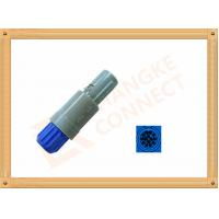 Buy cheap Plastic Male Plug Push Pull 14 Pin Circular Connector PVC Insulation product