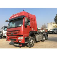 Buy cheap Three Axles Sinotruk Tractor Truck , 50 Ton Mini Prime Mover For Logistics product