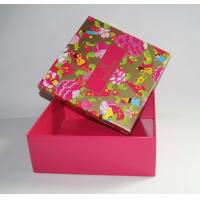 Buy cheap Custom Printed Rigid Cardboard Clothes Packing Paper Box product