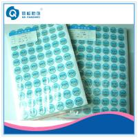 Buy cheap Tamper Resistant Scratch Off Stickers product