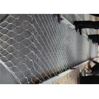 Flexible Stainless Steel Woven Mesh , Stainless Steel X Tend Mesh Anti - Rust