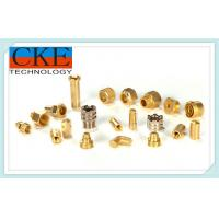 Buy cheap Brass Precision Turning Parts , CNC Turning Lathe Machining For Machinery product