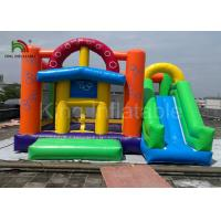 Buy cheap Amusement Park Inflatable Jumping Castle / Airplane Bouncy House with Logo from wholesalers