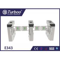 Buy cheap Less Maintenance Electronic Turnstile Gates / RFID Barrier Gate Compact Design product
