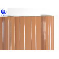 Buy cheap 3 Layers Thermal Plastic External Upvc Sheets Corrugated Upvc Rooftop product