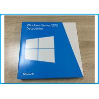 China Genuine Windows Server 2012 Datacenter 64 Bit OEM License Retail Version on sale