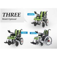 Big Wheel Manual And Electric Folding Wheelchair With Spray Material For Disabled People
