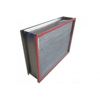 Buy cheap Customized 1000m³/h H14 HEPA Air Filter with Stainless Steel Frame product