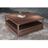 Buy cheap 2017 New Walnut Wood Case Good Furniture Design Living room Coffee table& Tea table with Storage side Drawers product
