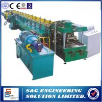 Buy cheap Lip Channel C Section Steel C Purlin Roll Forming Machine with Pre - punching product