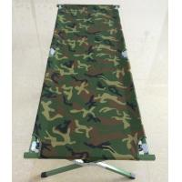 Buy cheap Camouflage Portable Military Camping Bed / Army Folding Bed Customized product