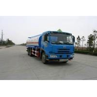 Faw 6x4 220HP Carbon Steel Gasoline Delivery Truck , Crude Oil Truck