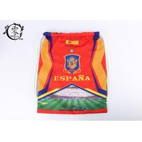 Buy cheap Espana National Team Printed Drawstring Backpack Promotional England Gym product