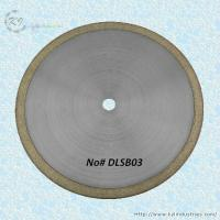 Buy cheap Bronze Sintered Diamond Saw Blade for Cutting Glass and Gemstone - DLSB03 from wholesalers