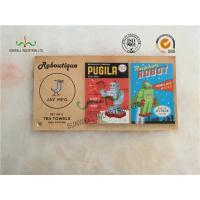Buy cheap Custom Kraft Paper Toy / Clothing Hang Tags Multi Color Printing On Both Side product