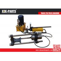 Buy cheap 100/150/200Ton Portable Hydraulic Track Link Pin Pusher Machine For Excavator&Dozer product