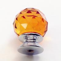 Buy cheap Triangular Facets Rhinestone Upholstery Buttons Glass And Zinc Alloy Material product