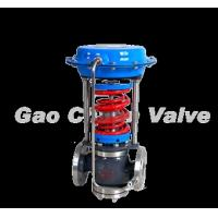Quality ZZC stainless steel relying on oneself type pressure controls the valve for sale