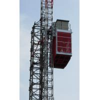 Buy cheap Durable Single Cage Building Construction Material Hoist Lift High Speed product