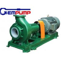 Buy cheap F Type horizontal Chemical Centrifugal Pump  Model 65FN-40A 3.36m³/h ~ 190.8m³/h Flow product