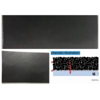 Buy cheap Super Capacitor Aluminium Foil Conductivity Black Carbon Coating Surface product