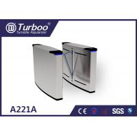 Buy cheap Smart Flap Barrier Turnstile Guide Pedestrians Correct And Smooth Passage product