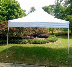 Buy cheap White Backyard Gazebo Tent UV Resistant For Beach / Backyard Camping Parties product