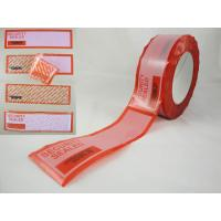 Buy cheap tamper evident security labels product