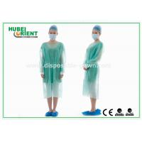 Buy cheap Disposable Protective Sterilized Surgical Gown / Disposable Isolation Gown with Knitted Wrist product