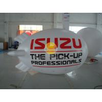 Buy cheap Inflatable 0.18mm PVC Helium Zeppelin , Exhibition Digital Printing Helium Airships product