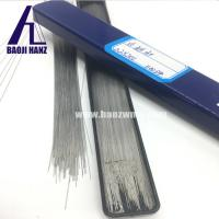 Buy cheap Straight tungsten wire, tungsten rod wire bright surface 200mm length for sale product