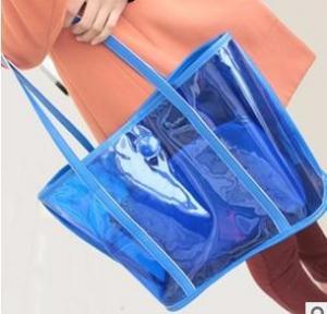 Buy cheap fashion transparent beach bag,summer candy bag product