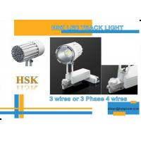 Buy cheap LED Track Light 30W White Black Color Trunking System Spot Lighting from wholesalers