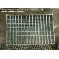 Flat Bar Galvanised Heavy Duty Steel Grating Automatic Welding For Airports