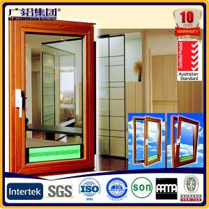 Buy cheap thermal break aluminium casement tilt&turn window product