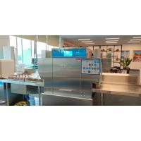 Buy cheap Accurate Commercial Conveyor Dishwasher , LED Display Three Rack Dishwasher product