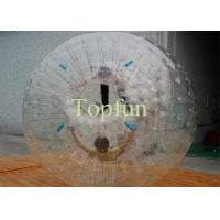 PVC Plastic Inflatable Zorb Ball Touch Zorbing Human Hamster For 2 People