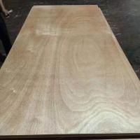 Buy cheap BB Grade Okoume Hardwood Ply Sheets 2 Times Hot Press One Side Wood Veneer Decoration product