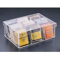 Buy cheap Popular Shape Acrylic  Boxes For Tea Bag product