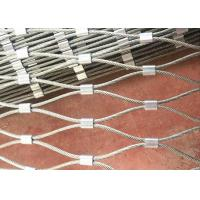 Buy cheap Hands Technique Stainless Steel Rope Mesh Fence For Green Wall System And Plant Climbing product