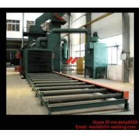 Buy cheap Steel Plate / H Beam Shot Blasting Machine For Cleaning And Blasting Before Sanding and Painting product