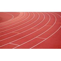 Buy cheap 13mm Spray Coat Rubber Running Track Surface , Epdm Jogging Track 1.22m*13mm product