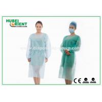 Buy cheap Medical Protective Clothing / Blue Yellow Surgical PP Isolation Gown product
